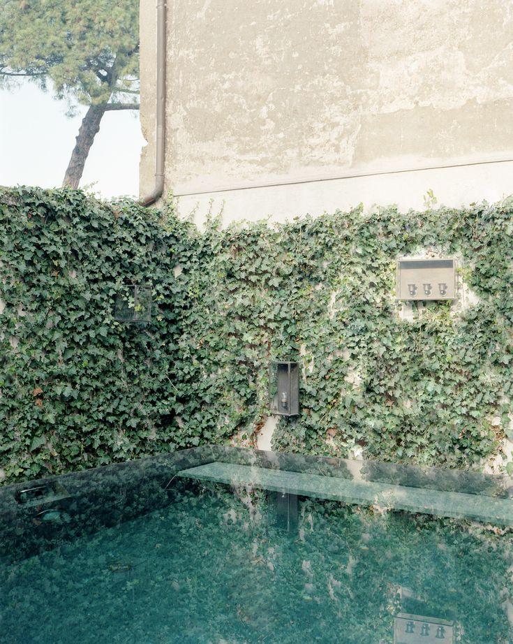 massimo adario architetto / piscina privata, casa nepi