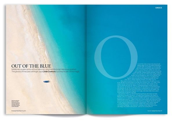 Design. By Sunday Times Travel Magazine.