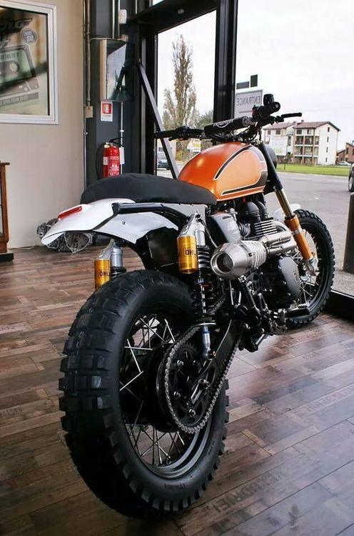 Triumph Scrambler #motorcycles #scrambler #motos   caferacerpasion.com