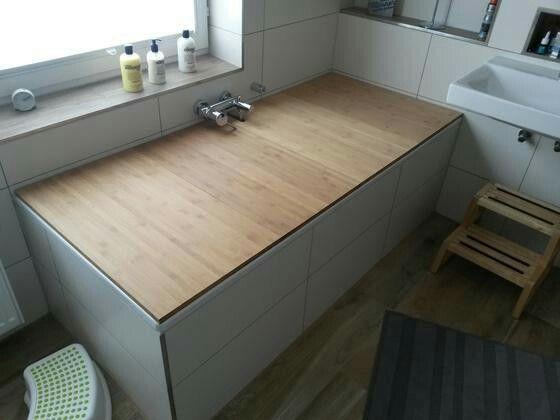 Badewannenabdeckung aus Holz ganz einfach selbst gemacht! DIY