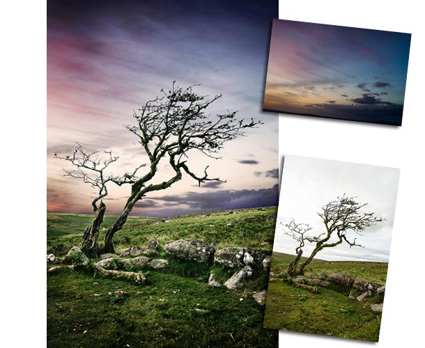 How to replace a sky: Photoshop effects to make your landscapes more attractive. jmeyer. http://www.digitalcameraworld.com/2013/07/03/how-to-replace-a-sky-photoshop-effects-to-make-your-landscapes-more-attractive/