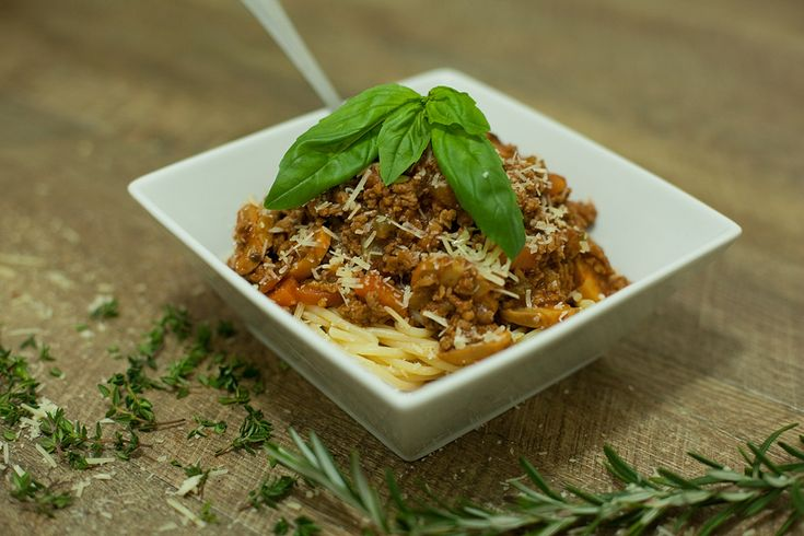 Slow cooked Bolognese - a family favourite