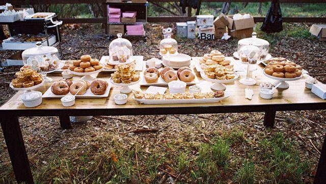 Magical Sunrise Wedding in the Woods - Mon Cheri Bridals