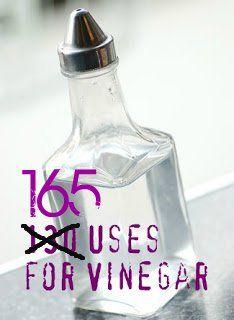 165 reasons to love vinegar even more. Via Cupcake Apothecary