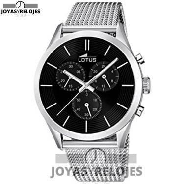 ⬆️😍✅ Lotus 18117/2 😍⬆️✅ Fantástico Modelo de la Colección de Relojes LOTUS || PRECIO 104.5 € En exclusiva en 😍 https://www.joyasyrelojesonline.es/producto/lotus-181172-reloj-de-pulsera-hombre-acero-inoxidable-color-plateado/ 😍 ¡¡Edición limitada!!