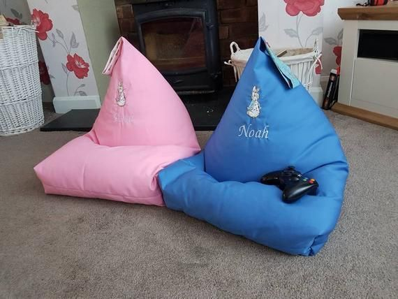 Childs Beanbag Chair, FREE PERSONALISATION Peter Rabbit or ...