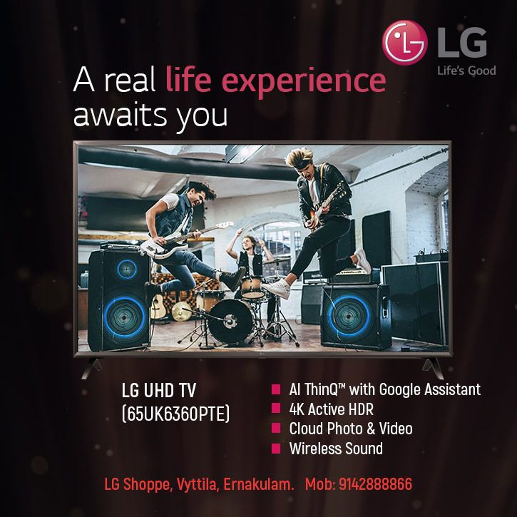 Lg Ultra Hd Represents The Next Level Of Picture Quality And