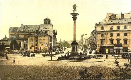 King Zygmunt Statue in Warsaw.
