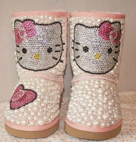 Hello Kitty Uggs | 20 Pairs Of Uggs That Will Destroy Your Faith In Humanity