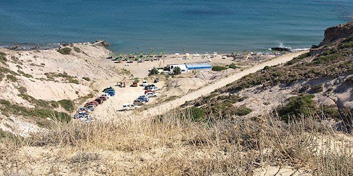 Пляж Лагадес