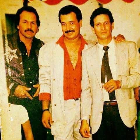 Tres grandes de la musica popular en Colombia...una foto muy antigua