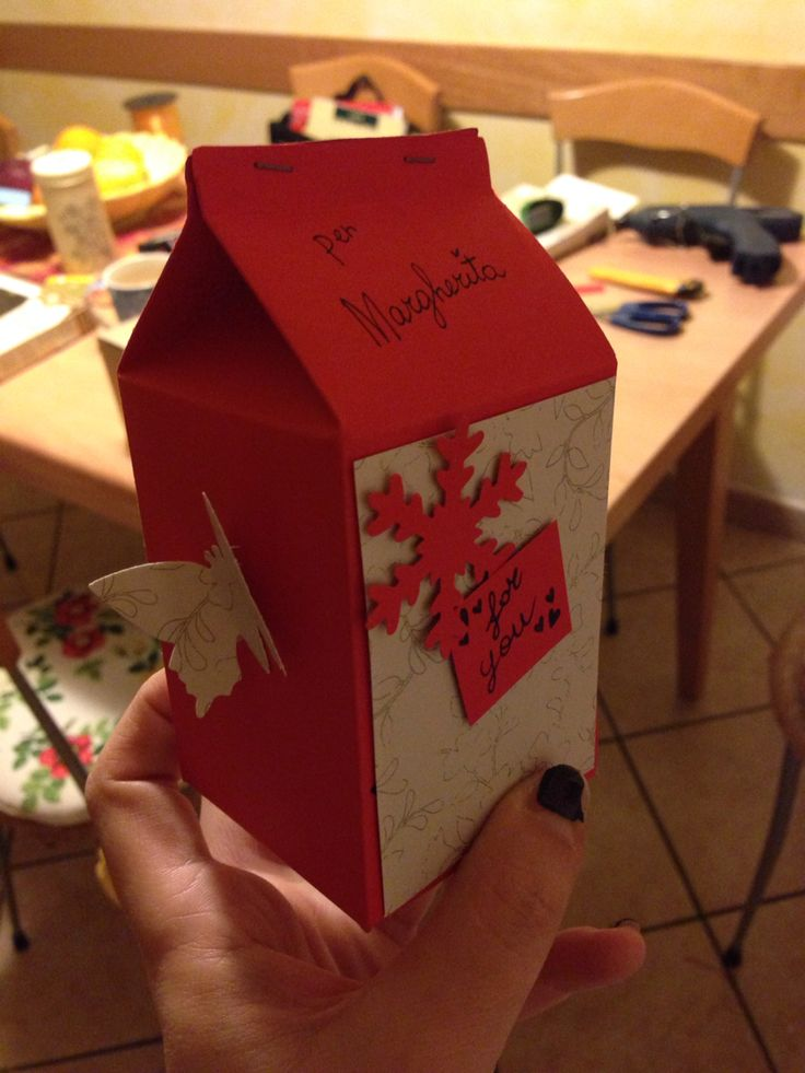 Riciclo, christmas box DIY