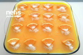 Portakallı Kedidili Tatlısı