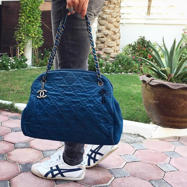 #Chanel Blue Royal Suede Just Mademoiselle Bowling Bag. Aged SHW .  Condition: excellent, box included АЕD 4,900 Shop more #Chanel bags at www.bagatelleboutique.com 😍 We deliver worldwide 🌍  #bagatelleboutique #bagatellechanel #chanel #chanelboy #reissue #classic #cocochanel #mydubai #purple #ootd #bags #fashion #trend #musthave #saudiarabia #ootn #chanelreissue #dubai #preloved #preowned #original #authentic #دبي#شنط#شانيل#شنط_ماركات #summer2016 Folow @fashionbookface   Folow @salevenue…