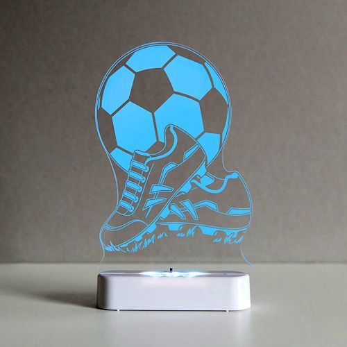 Aloka Soccer Ball and Boots #childrennightlight with the new battery / USB base