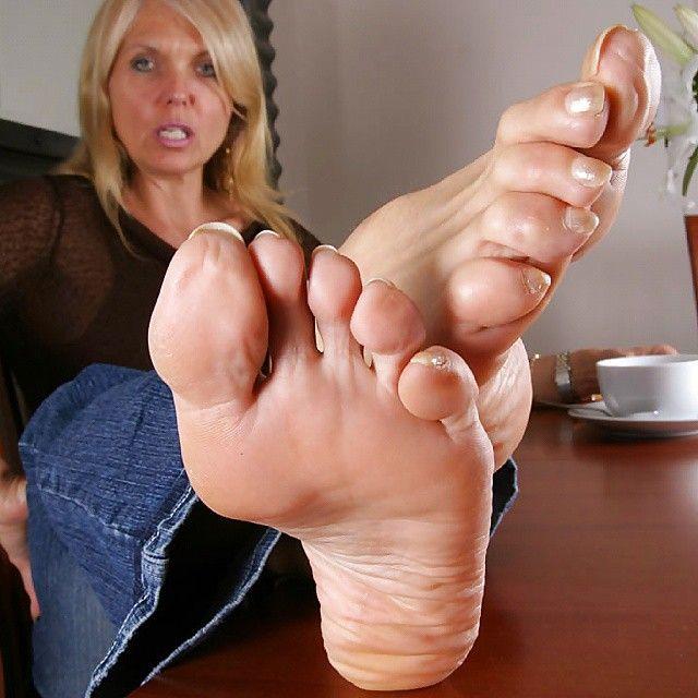 Mature Women Foot 30