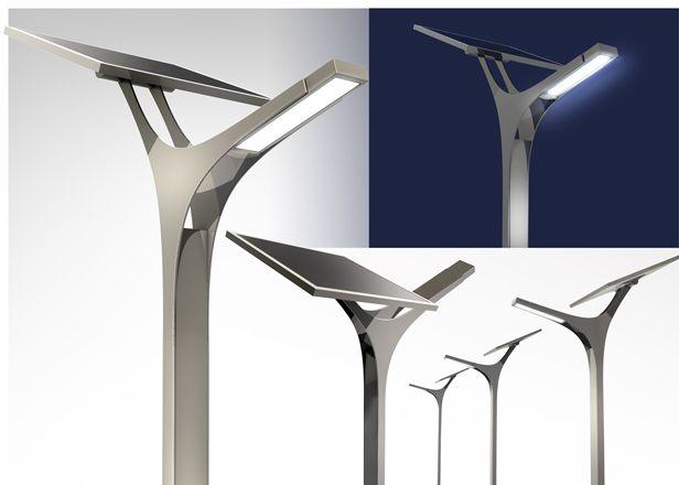 Concept lampione fotovoltaico 2009 | Agenzia di comunicazione Vassalli Associati + Moredesign