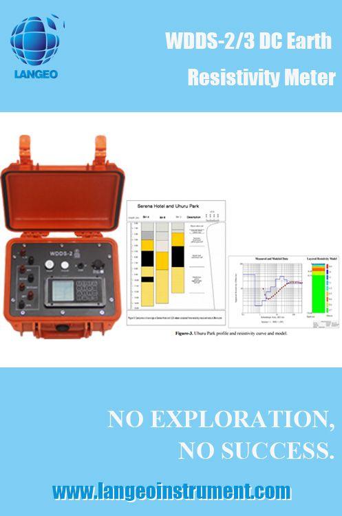 LANGEO geophysical resistivity meter