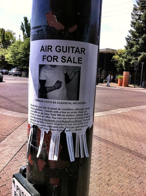 """Air guitar for sale"""