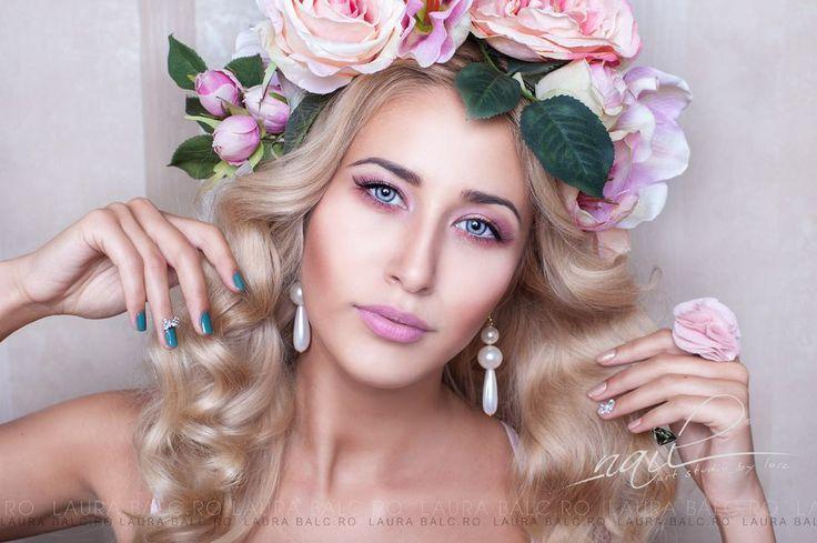 Photo/Edit: Laura Balc , assistant Codrut Bordeanu Model: Andreea Pro Nails: Nail Art Studio by Lore Hair: Bebe Veja Make-up: Ligia Chira  Accesories: Dee StyleDesign