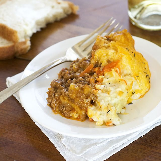 Where food, family and friends gather, Simply Gourmet: 226. Shepherd's Pie (lamb) or Cottage Pie (beef)