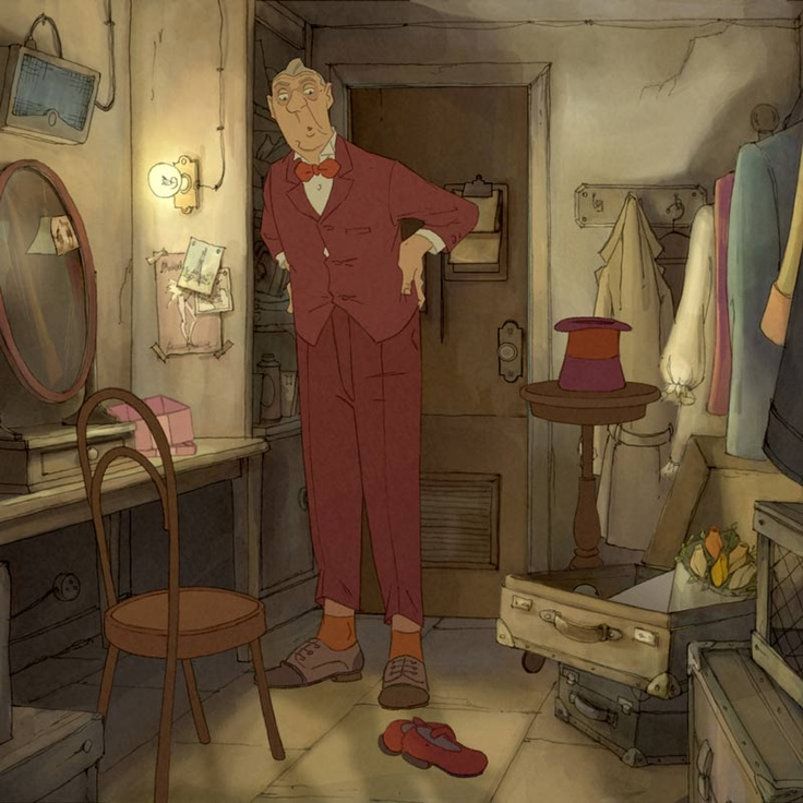 The Illusionist - From the director of Triplets of Belleville, a beautifully-animated adaption of Jacques Tati's final script