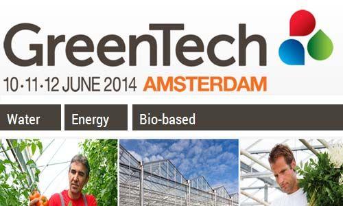 #GreenTech 10-11-12 June 2014 #Amsterdam