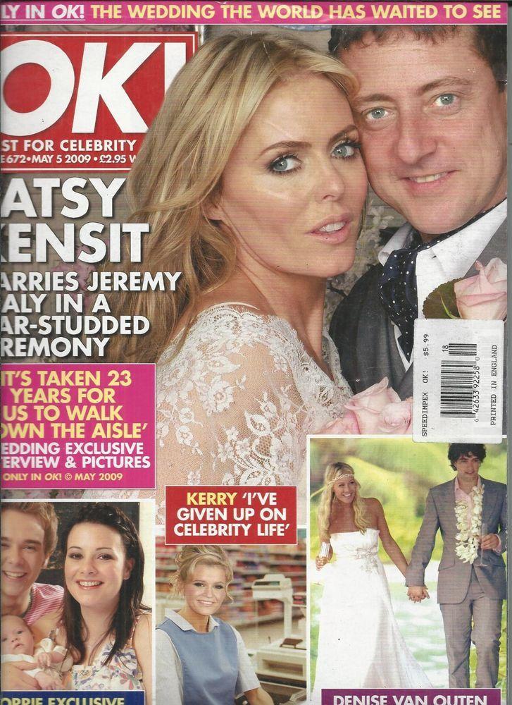 OK magazine Patsy Kensit wedding Jack Shepherd Denise Van Outen Charlotte Mears