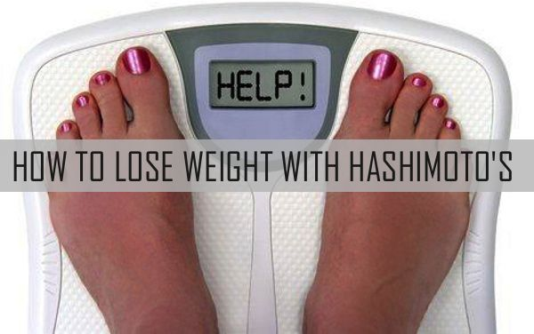 hashimotos cause weight loss