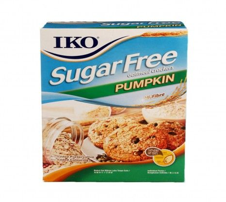 Iko Sugar Free Pumpkin Oatmeal Cracker 178G at Rs.150 online with shipping in India.