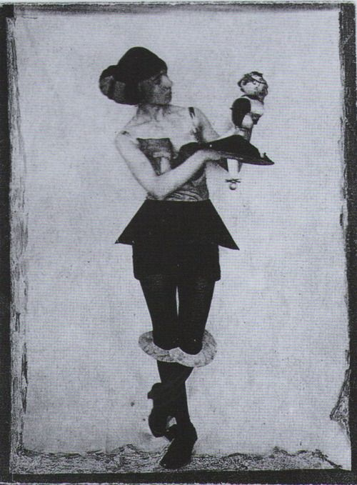 Hannah Höch*as one of her figurines c.1925 from…