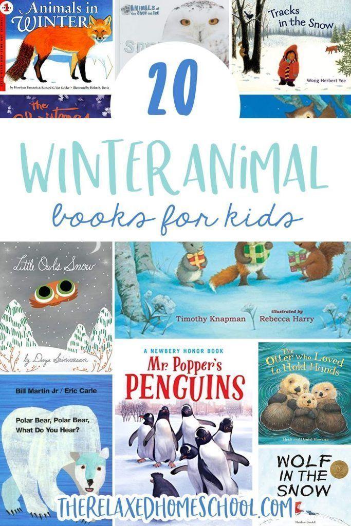 20 Winter Animal Books for Kids | Children's Picture Books