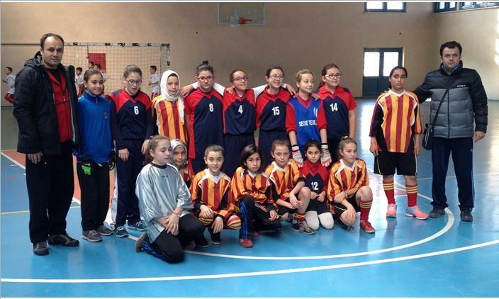 TED Futsal takımı şampiyonluk yolunda