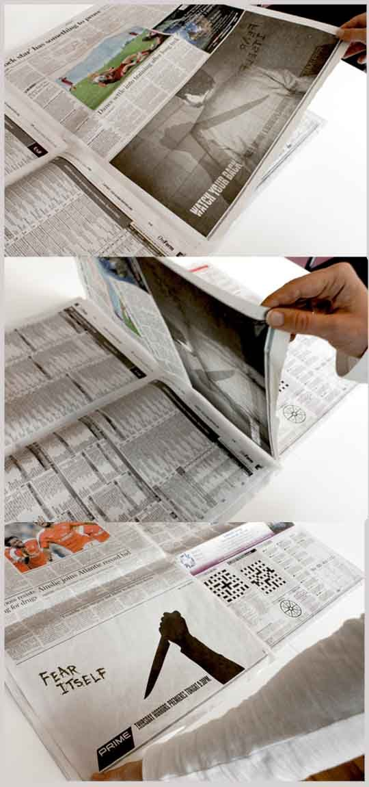 Inventive Newspaper Ads Advertising IdeasCreative AdvertisingNewspaper DesignEmail