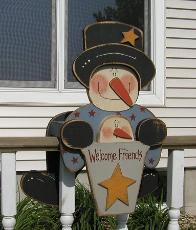 free primitive scarecrow patterns for wood | Wood Crafts - Free Patterns - Woodcraft Patterns and Woodworking ...