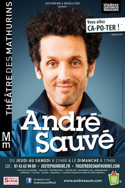André Sauvé se prend la tête au théâtre des Mathurins