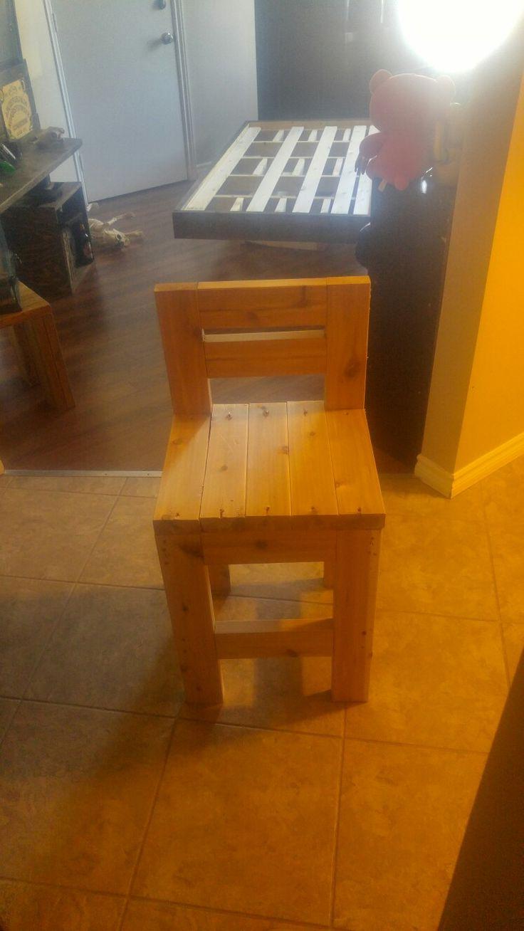 2x4 Cedar Stool