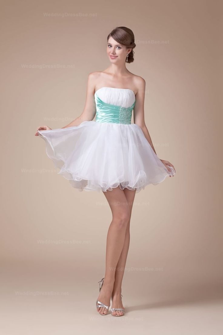 Lovely Strapless Organza Prom Dress With Delicate Ruffle And Beaded Satin Belt   Read More:     http://www.weddingsred.com/index.php?r=lovely-strapless-organza-prom-dress-with-delicate-ruffle-and-beaded-satin-belt-orgebe.html