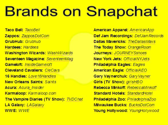 Snapchat username ideas