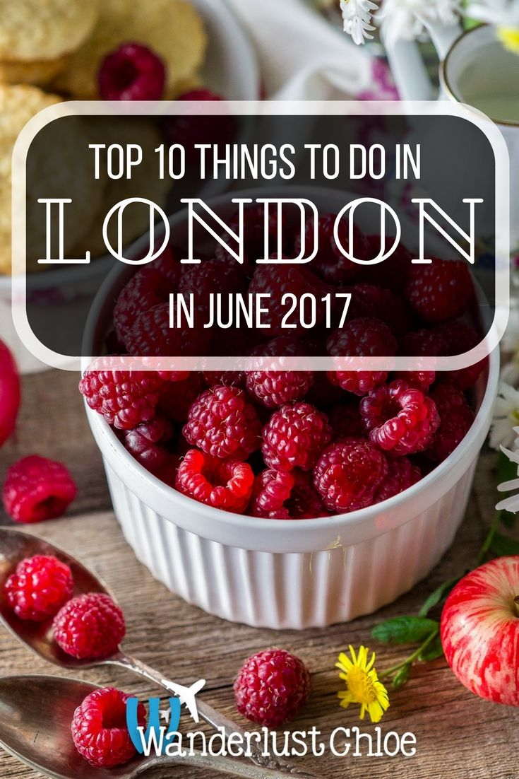 Top 10 Things To Do In London In June 2017. From London Food Month and Taste of London, to music from Adele and Ed Sheeran, plus the Naked Bike Ride, here are the top things to do in London in June 2017. https://www.wanderlustchloe.com/london-june-2017-things-to-do/