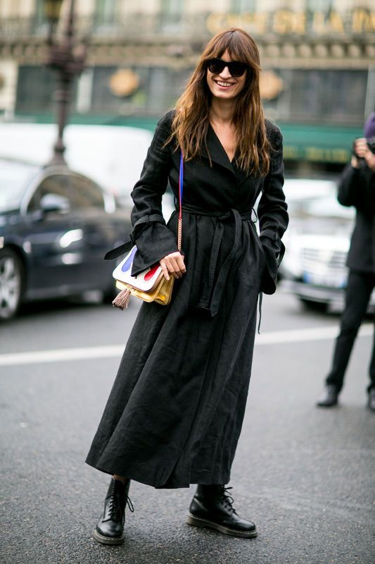 Street fashion: Paris Fashion Week jesień-zima 2016/2017, fot. Imaxtree