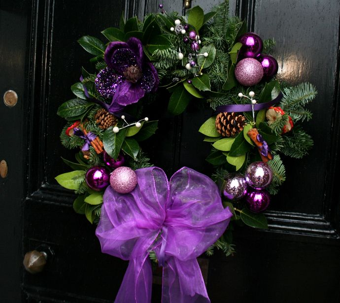 Best 10+ Purple Christmas Decorations Ideas On Pinterest