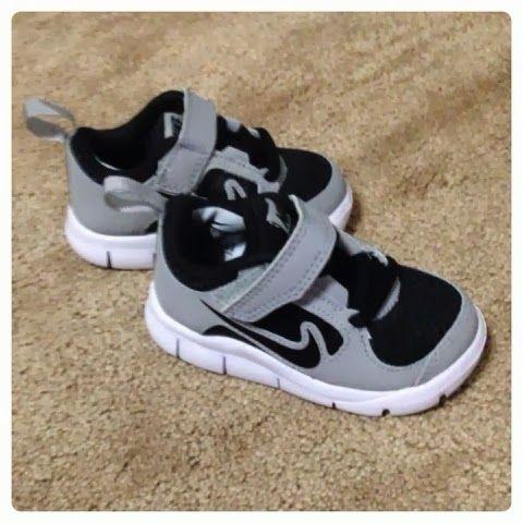 Ryne's baby Nike shoes . So cute :)