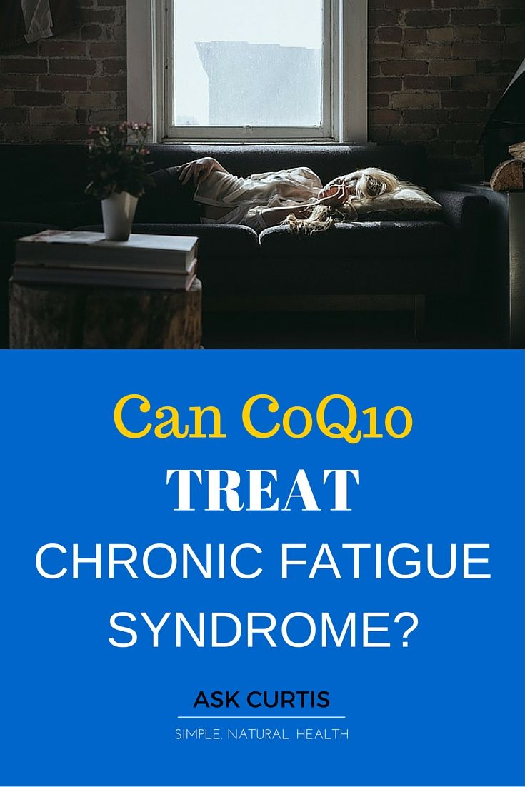 Supplementing with Coenzyme Q 10 (CoQ10) may help with the symptoms of Chronic Fatigue Syndrome (CFS)