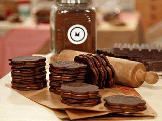 Recetas Mauricio Asta   Alfajores de chocolate   Utilisima