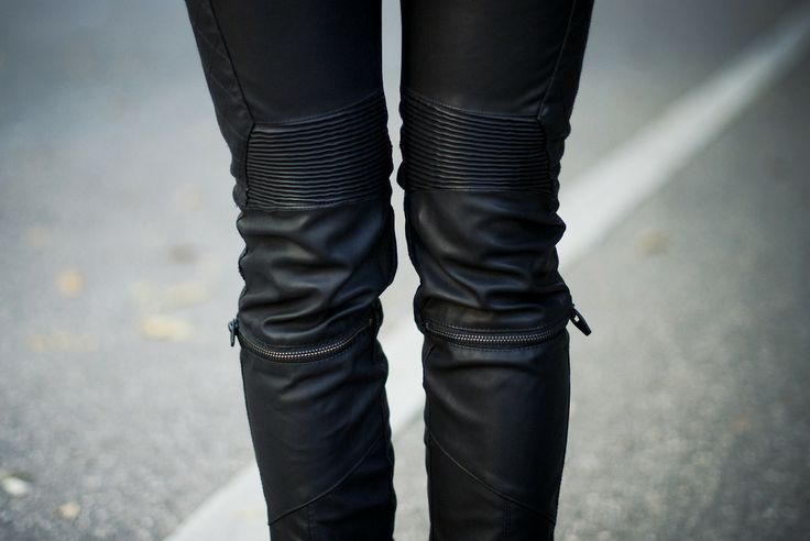 leather pants #leather #streetstyle