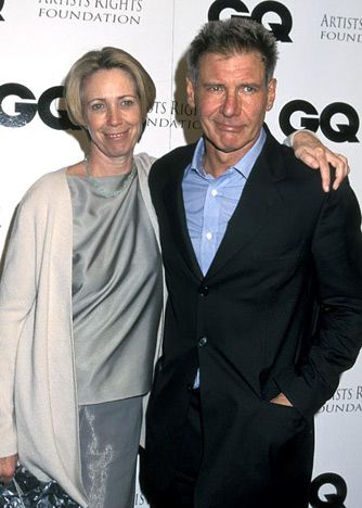 Harrison Ford & Melissa Mathison, after 6 yrs of marriage in 1983, Ford was bringing in $20 million per picture, and when the couple split in 2004, Mathison negotiated a portion of her ex's future earnings from films released during their marriage, including income from The Fugitive and the Indiana Jones film franchise.