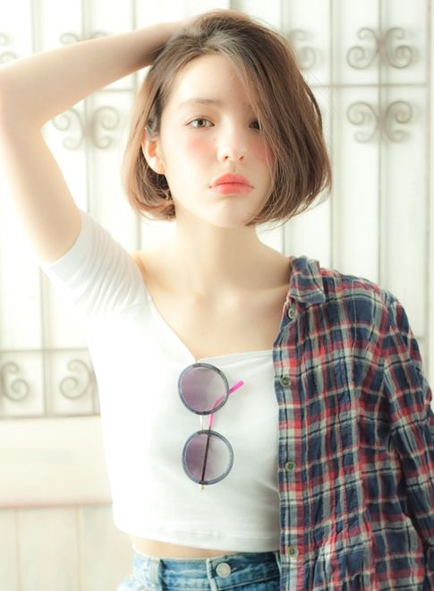 長谷川潤さん風 こなれ感×おしゃれボブ 【MINX aoyama】 http://beautynavi.woman.excite.co.jp/salon/3384 ≪ボブ・ヘアスタイル・bob・hairstyle≫