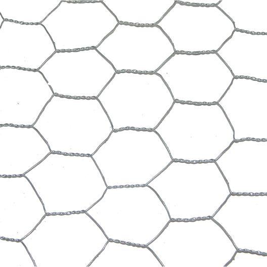 Grillage souple triple torsion H 1 x L 3 m avec maille H 25 x l 25 mm