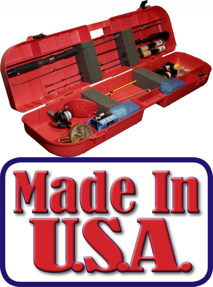 Ice Fishing Rods 179947: Mtm Ice Fishing Rod Box (Red) -> BUY IT NOW ONLY: $40.97 on eBay!
